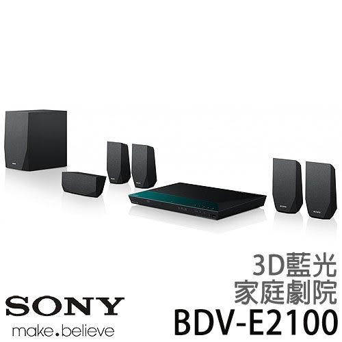 SONY 新力 BDV-E2100 5.1聲道 3D 藍光 家庭劇院組