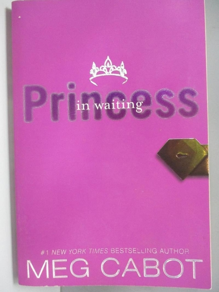 【書寶二手書T1/歷史_AKH】Princess in Waiting_Cabot, Meg