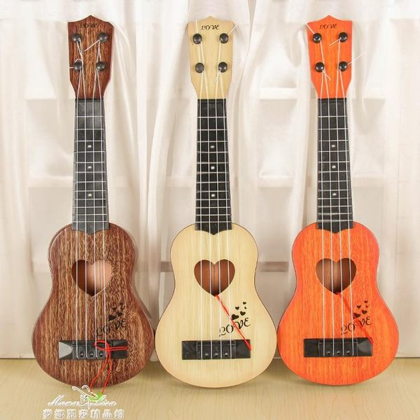 烏克麗麗兒童大號尤克裏裏玩具仿真可彈奏初學者吉他男孩女孩2-3-5歲YXS 夢娜麗莎