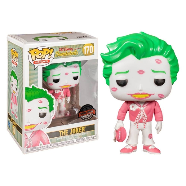 【 Funko 】 POP! DC系列 小丑 白&粉 / JOYBUS玩具百貨