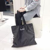 【懶貓獨家】大號可折疊購物袋 超結實尼龍環保袋 手提袋 買菜包【奇貨居】