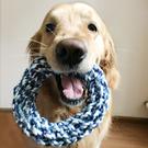 狗狗玩具狗咬繩耐咬繩結泰迪比熊金毛幼犬小型犬磨牙玩具寵物用品 樂活生活館