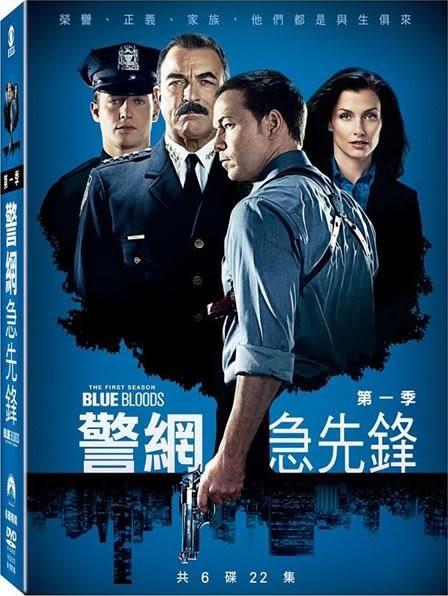 警網急先鋒 第1季 DVD 歐美影集   (音樂影片購)