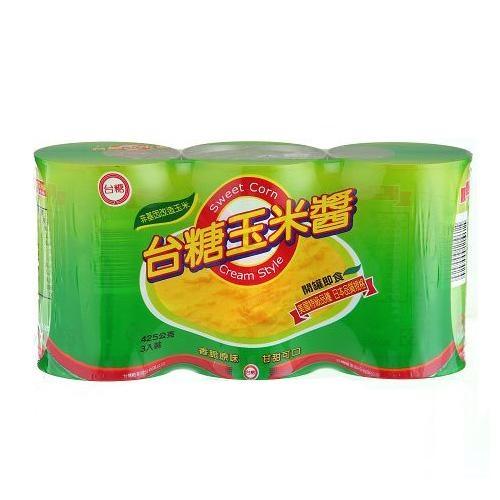 台糖特級玉米醬425G x3【愛買】