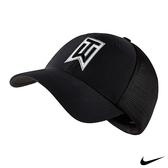 NIKE GOLF TIGER WOODS 運動網帽 黑 726287-010