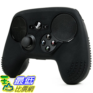 [美國直購] Foamy Lizard FL-STM-SKIN-BLACK 搖桿 保護套 ParticleGrip STUDDED Skin for Steam Controller