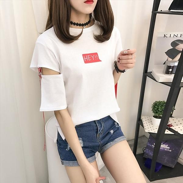 找到自己 G5 韓國時尚 短袖 T恤 寬鬆 學生 百搭 半袖 上衣