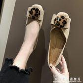 豆豆鞋單鞋女春款淺口平底仙女百搭晚晚鞋學生圓頭復古溫柔鞋豆豆鞋 科炫數位