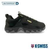 【超取】K-SWISS Cali Trail WP戶外運動防水鞋-男-黑