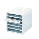 SHUTER 樹德 SA4-106P桌上型資料櫃