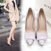 超高跟單鞋女裸色   米蘭shoe