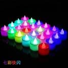 電子蠟燭浪漫LED燈生日心形表白裝飾