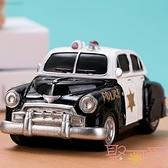 創意乳牙紀念盒牙齒保存盒子小汽車擺件寶寶換牙收藏盒【聚可愛】