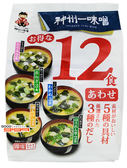 【吉嘉食品】宮坂神州一即食味噌湯(綜合) 每193.1公克,日本進口 {4902703083037}[#1]