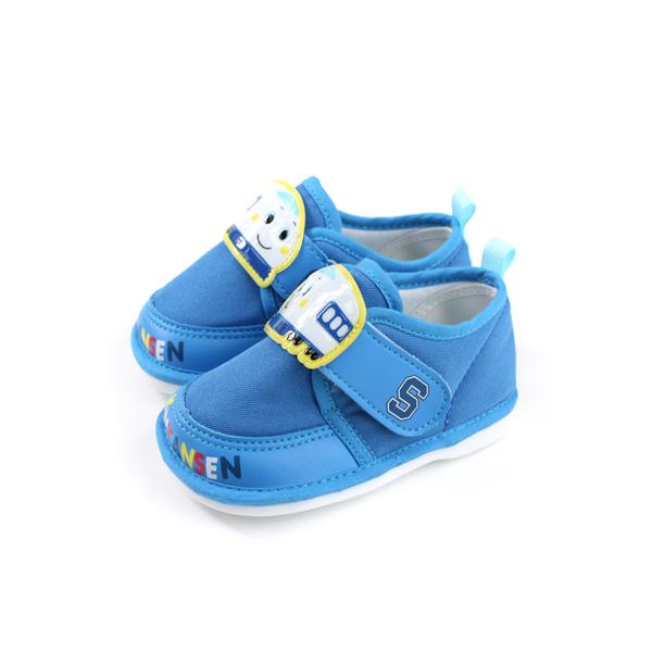 新幹線 SHINKANSEN 休閒布鞋 嗶嗶鞋 藍色 小童 童鞋 719825 no797