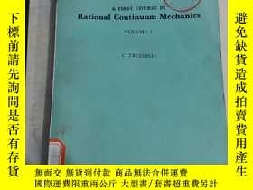 二手書博民逛書店Rational罕見Continuum MechanicsY18