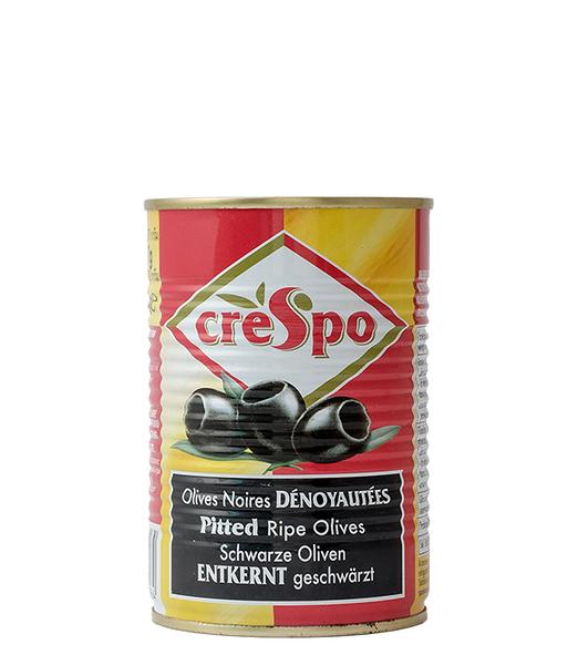 【美佐子MISAKO】進口食材系列-Crespo Pitted Black Olives 瑰寶料理黑橄欖 387g