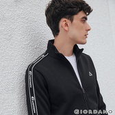 【GIORDANO】男裝G-MOTION品牌LOGO運動外套 - 01 標誌黑