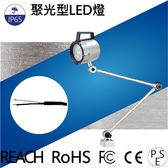 LED聚光燈 NLSL15CP-DC  光通量:660lm  照度:3600lx  7W IP67  3m線  LED工作燈/照明燈/各類機械自動化設備