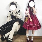 日系洛麗塔洋裝連身裙Lolita吊帶裙【步行者戶外生活館】