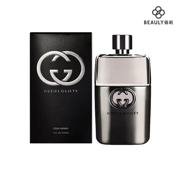 GUCCI Guilty pour Homme 罪愛男性淡香水 50ml《BEAULY倍莉》