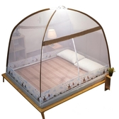 蚊帳-加密加厚蒙古包蚊帳免安裝1.5米1.8m雙人床家用1.2米單人宿舍紋賬-奇幻樂園