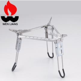 【Wen Liang 文樑 三角型爐架】ST-2009B/三角型爐架/爐架/不銹鋼爐架/登山/露營★滿額送