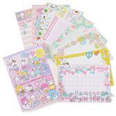 〔小禮堂﹞Sanrio 大集合日製便條本《粉演奏會》便條紙信紙4901610 86743