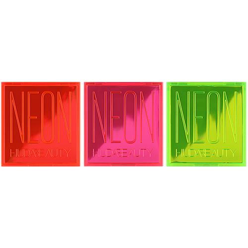 HUDA BEAUTY 霓虹系列 9色眼影盤 9x1.1g 絢麗斑斕色彩《小婷子》