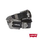 Levis 女款 皮帶 中東風金屬釦 / 時尚蛇紋