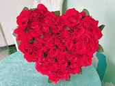結婚禮車玫瑰車頭彩 附2條紅彩帶 禮車專用車頭彩 結婚用品 男方結婚用品【皇家結婚百貨】