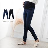 【MN0127】獨家款.基本款素面窄管牛仔褲.腰可調
