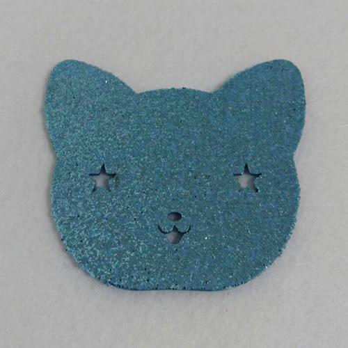 金蔥泡棉包#10-貓頭