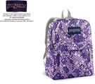 【橘子包包館】JANSPORT 後背包 SUPER BREAK JS-43501 紫色蛇紋
