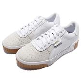 【六折特賣】Puma 休閒鞋 Cali Exotic Wns 白 膠底 皮革 小白鞋 明星款 女鞋 【ACS】 36965301