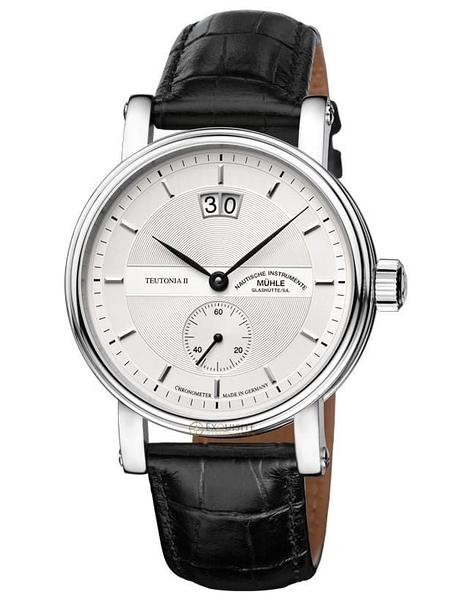 ★德國高級腕錶品牌★格拉蘇蒂-莫勒Muehle-Glashuette Classical-M1-33-75-LB-錶現精品-原廠正貨