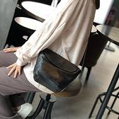 真皮側背包-簡約休閒純色牛皮女斜背包3色73zu44【巴黎精品】