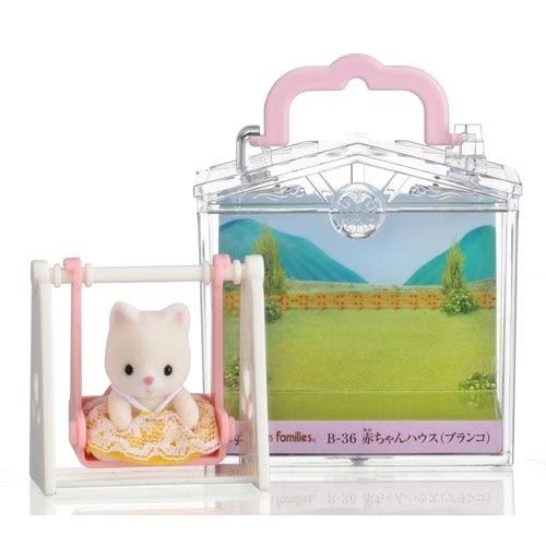森林家族 人偶 嬰兒盪鞦韆提盒