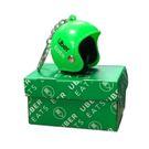 安全帽造型鑰匙圈-Uber Eats (綠色)+盒子