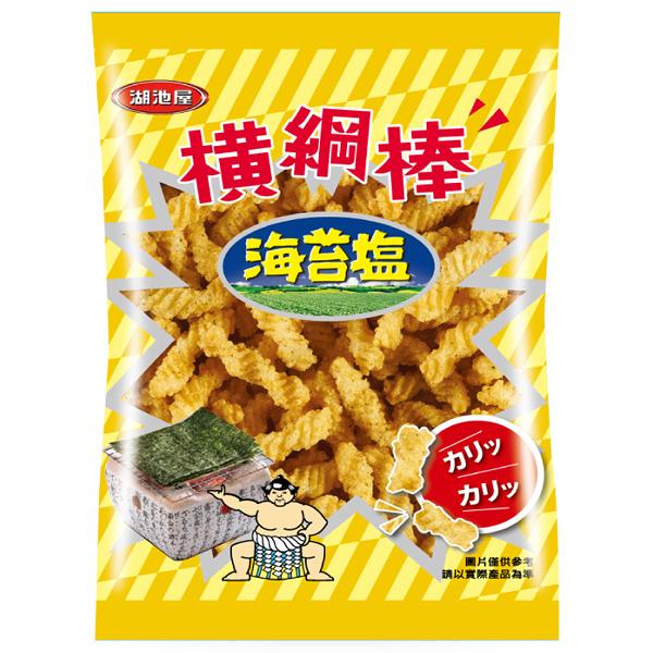 湖池屋橫綱棒-海苔塩50g【康鄰超市】