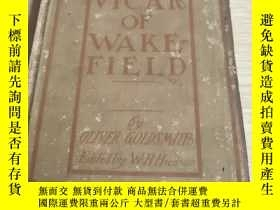 二手書博民逛書店THE罕見VICAR OF WAKE-FIELD:尾流場的牧師(