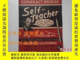 二手書博民逛書店CONTRACT罕見BRIDGE --1946 , 英文版《橋牌