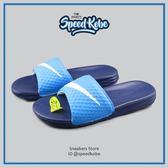 Nike 拖鞋 Benassi Solarsoft 藍白勾 輕量 超好穿 基本款 男女 705474-402☆SP☆