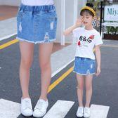 女童夏季新款2018夏款韓版寬松超短褲 ZL632『黑色妹妹』