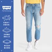 Levis 男款 511低腰修身窄管牛仔褲 / Cool Jeans 輕彈有型 / 刷破及踝款