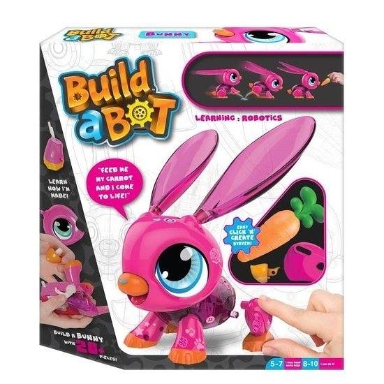 【 Build-a-Bot 】可愛機甲獸: 兔寶 / 正版公司貨 ╭★ JOYBUS玩具百貨