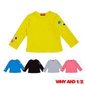 WHY AND 1/2 mini 普普熊彈性萊卡T恤  1Y-4Y 多色可選