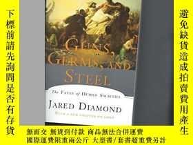二手書博民逛書店Guns,罕見Germs And SteelY256260 Jared Diamond W W Norton
