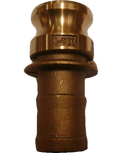 水用快速接頭 E型 1-1/4英吋 HOS公插芯 材質:銅 台灣製造