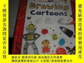 二手書博民逛書店usborne罕見art ideas drawing cartoons (奧斯本藝術創意畫漫畫)Y25524
